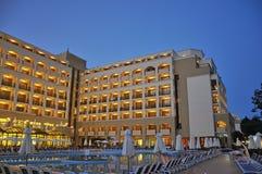 Sol Nessebar母马和Sol Nessebar海湾旅馆 免版税库存图片