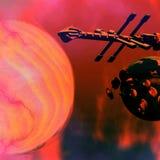 sol- nexus Royaltyfria Foton