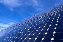 sol- panel Royaltyfri Bild