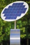 Sol- panel. Arkivfoto