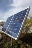 sol- panel Arkivfoton