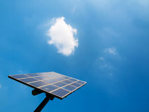 sol- panel Royaltyfria Bilder