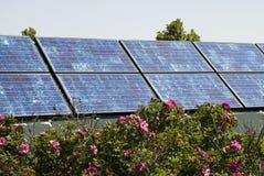 sol- paneler 1 fotografering för bildbyråer
