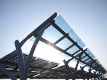 sol- panelström Royaltyfri Bild