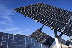 Sol- Photovoltaic celler Royaltyfri Bild