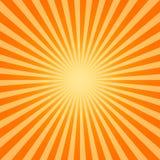 Sol quente Fotografia de Stock