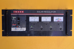 Sol- regulator royaltyfri foto