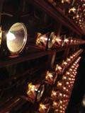 Sol- samling för simulatorhalogenlampa Royaltyfria Foton