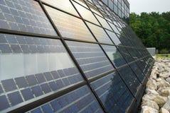 sol- station för avlägsen norr ström Arkivfoto