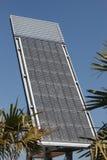 sol- station för energi Arkivbilder