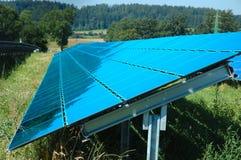 sol- station för ström Royaltyfri Fotografi
