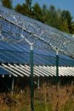 sol- station för strömsäkerhet Royaltyfri Fotografi