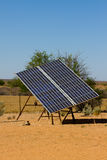 sol- stor panel Royaltyfri Bild