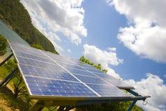 sol- ström Royaltyfri Fotografi