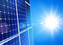 sol- ström Royaltyfri Bild