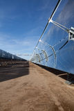 sol- strömreflektorer Royaltyfri Fotografi