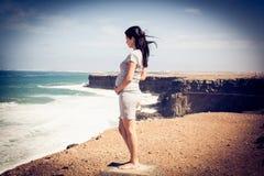 Sol, strand och det nya livet royaltyfri foto