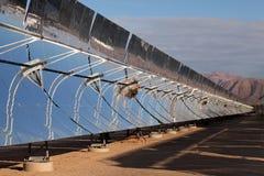 sol- strömreflektorer Arkivbild