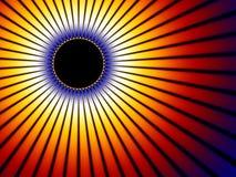 sol- sun för bakgrundsförmörkelse Arkivbild