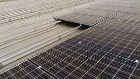 Sol- taköverkant Royaltyfri Fotografi