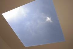 sol- takfönster Royaltyfria Foton