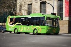 sol- tindo för buss Fotografering för Bildbyråer