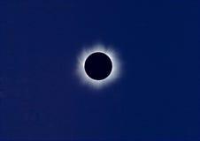 sol- total för förmörkelse Arkivbilder