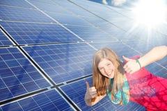 sol- tum för ström upp Royaltyfri Foto