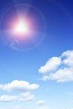 sol- utstrålning Royaltyfri Fotografi