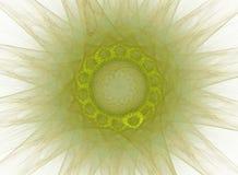 Sol verde Fotografía de archivo libre de regalías