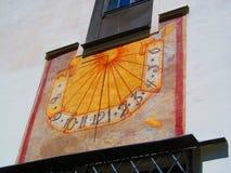 Sol-visartavla Royaltyfria Bilder