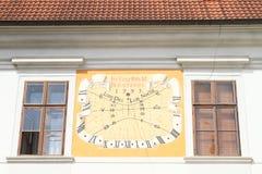 Sol-visartavla royaltyfri bild