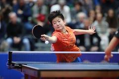 SOL Yingsha da rotação da parte superior de China imagens de stock