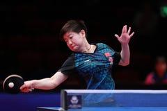 SOL Yingsha da rotação da parte superior de China imagens de stock royalty free