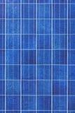 sol- yttersida för panel Royaltyfria Bilder