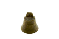 Sola alarma de cobre amarillo vertical fotografía de archivo libre de regalías