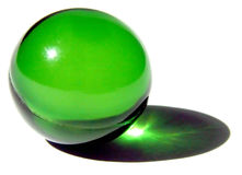 Sola bola del baño foto de archivo