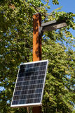 Sola central eléctrica Fotos de archivo