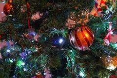 Sola chuchería de la Navidad Imagenes de archivo