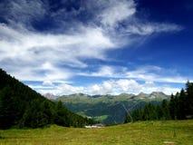 Sola dos di de Val no trentino, Italia Imagem de Stock Royalty Free