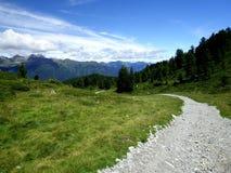 Sola dos di de Val no trentino, Italia Imagens de Stock