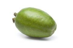 Sola fruta fresca entera de Feijoa Fotos de archivo libres de regalías