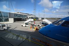Stavanger Airport, Sola. Rogaland county. Norway royalty free stock photography