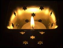 Sola llama Foto de archivo libre de regalías