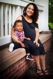 Sola mama Fotos de archivo