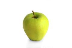 Sola manzana verde fresca Fotografía de archivo