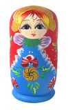 Sola muñeca del matrioschka Imagenes de archivo