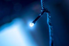 Sola pequeña luz del LED Fotografía de archivo libre de regalías