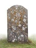 Sola piedra grave fotografía de archivo