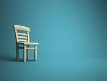 Sola silla Fotografía de archivo libre de regalías